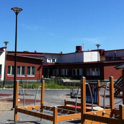 Referenssi Koulukeskuksen peruskorjaus ja uudisrakennusosa Kauhajoella
