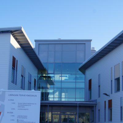 Referenssi Uusi, moderni terveyskeskus Limingassa