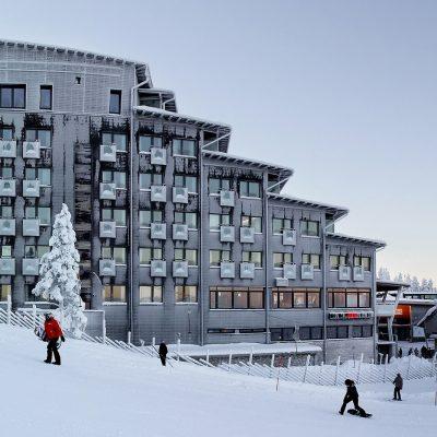 Referenssi Hotelli tunturissa – Levi Panorama  -LVI-suunnittelu